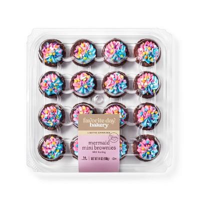 Mermaid Mini Brownies - 14oz - Favorite Day™