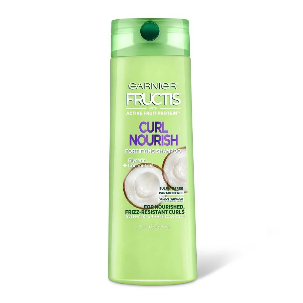 Garnier Fructis Curl Nourish Sulfate Free Shampoo 12 5 Fl Oz