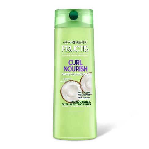 Garnier Fructis Curl Nourish Sulfate-Free Shampoo - 12.5 fl oz - image 1 of 4