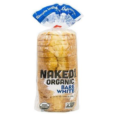 Franz Naked Organic Bare White Bread - 22.5oz