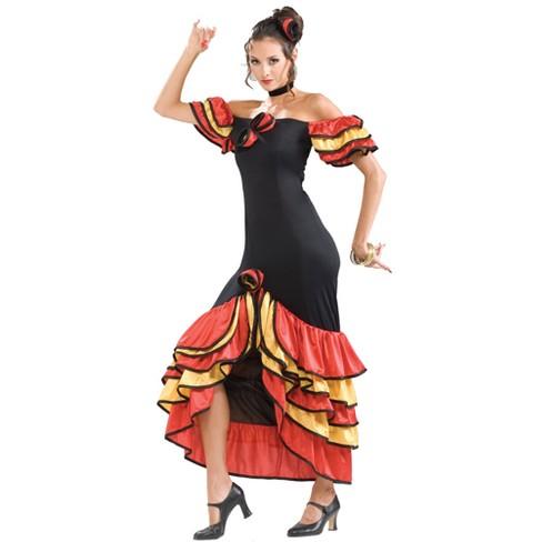 Women's Spanish Senorita Costume One Size - image 1 of 1
