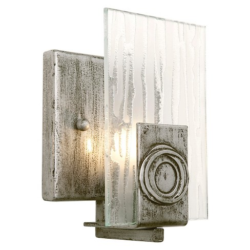 Polar 1 Light Bath Fixture - Blackened Silver - image 1 of 2