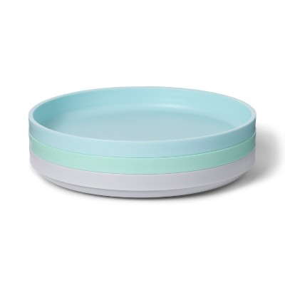 Dining Plate with TPR Bottom - Cloud Island™ 3pk