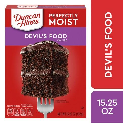 Duncan Hines Devils Food Cake Mix - 16.5oz - image 1 of 4