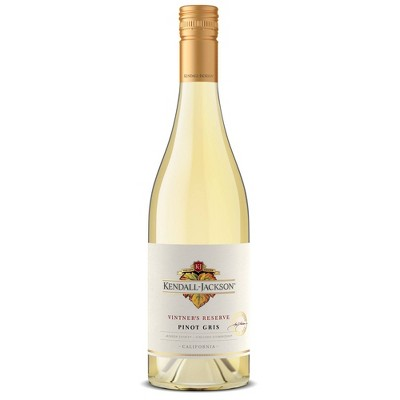 Kendall-Jackson Vintner's Reserve Pinot Gris/Grigio White Wine - 750ml Bottle