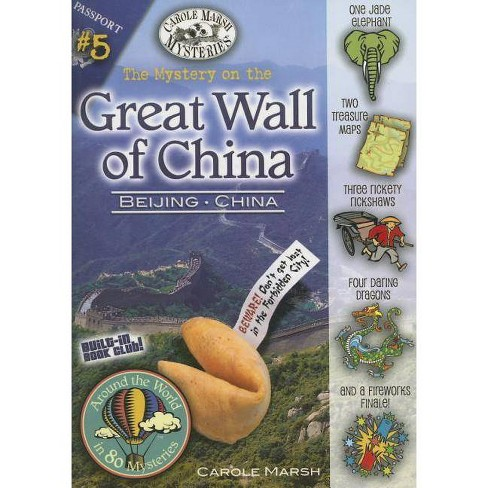 The Mystery on the Great Wall of China - (Around the World in 80 Mysteries (Paperback)) (Paperback) - image 1 of 1