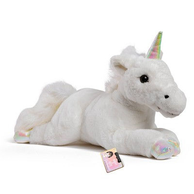 "FAO Schwarz Adopt-A-Pets Unicorn 22"" Stuffed Animal with Adoption Certificate"