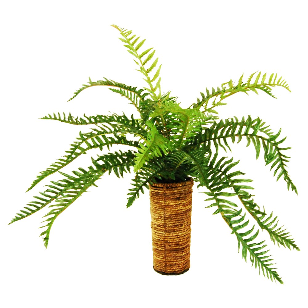 Image of Artificial Fern Plant Green 30 - Lcg Florals