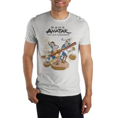 Avatar: The Last Airbender White Short-Sleeve T-Shirt