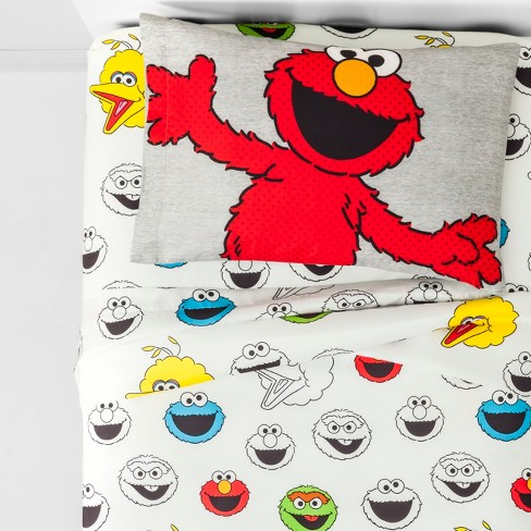 Sesame Street Elmo Twin Sheet Set