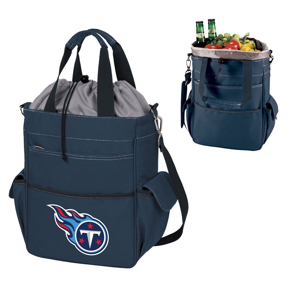 Tennessee Titans Activo Cooler Tote By Picnic Time Navy