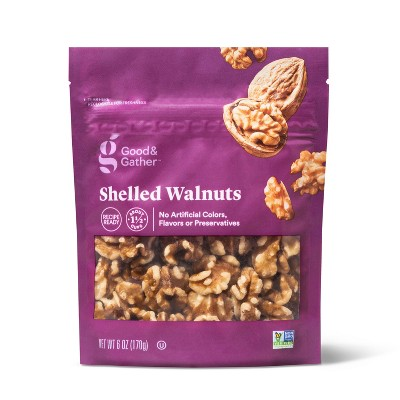 Shelled Walnuts - 6oz - Good & Gather™