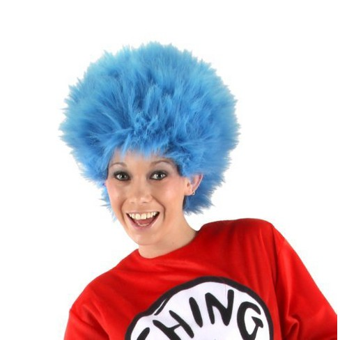 Dr. Seuss Adult Thing 1 And 2 Wig   Target 545087b7d
