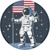 PopSockets PopGrip Cell Phone Grip & Stand - Man on the Moon - image 3 of 4