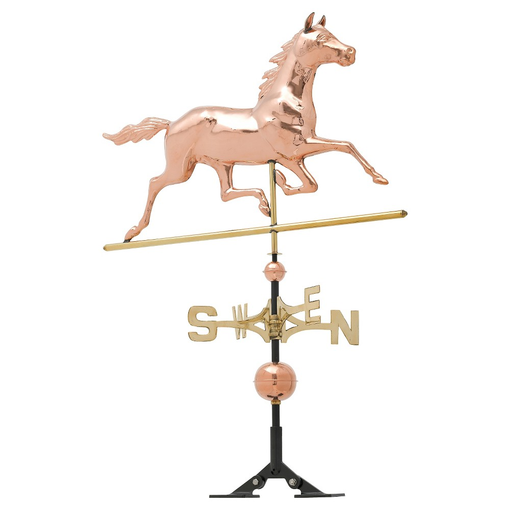 34 Horse Weathervane - Polished Copper - Whitehall Products
