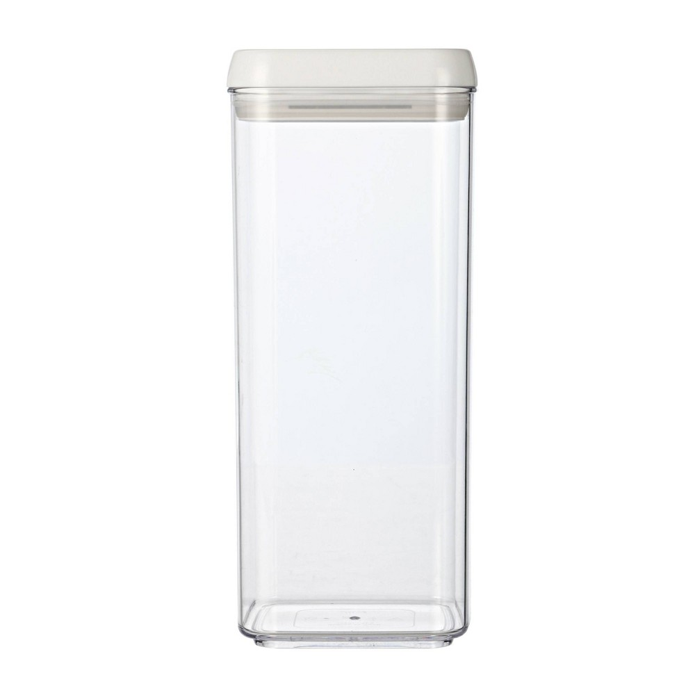 Image of Felli Flip Tite 105oz Acrylic Pasta Canister, Clear