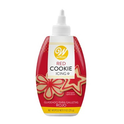 Wilton Red Cookie Icing - 9oz