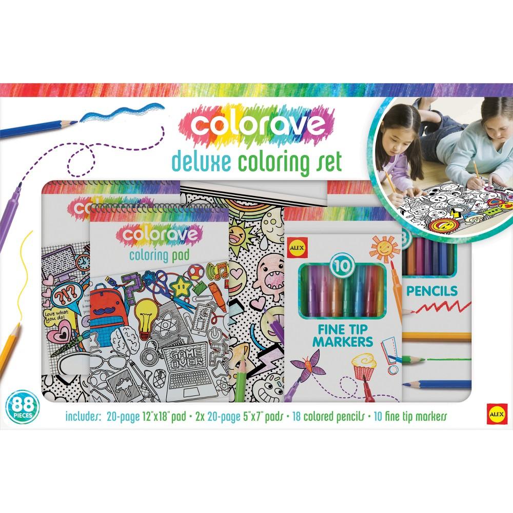 Image of ALEX Art Colorave Deluxe Coloring Set