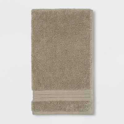 Spa Hand Towel Taupe - Threshold Signature™