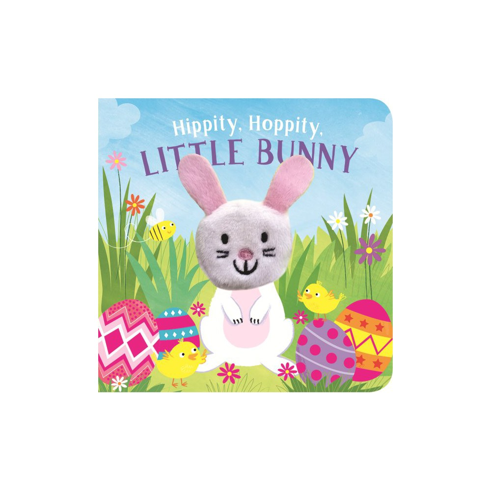 Hippity, Hoppity, Little Bunny Finger Puppet Book - (Hardcover)