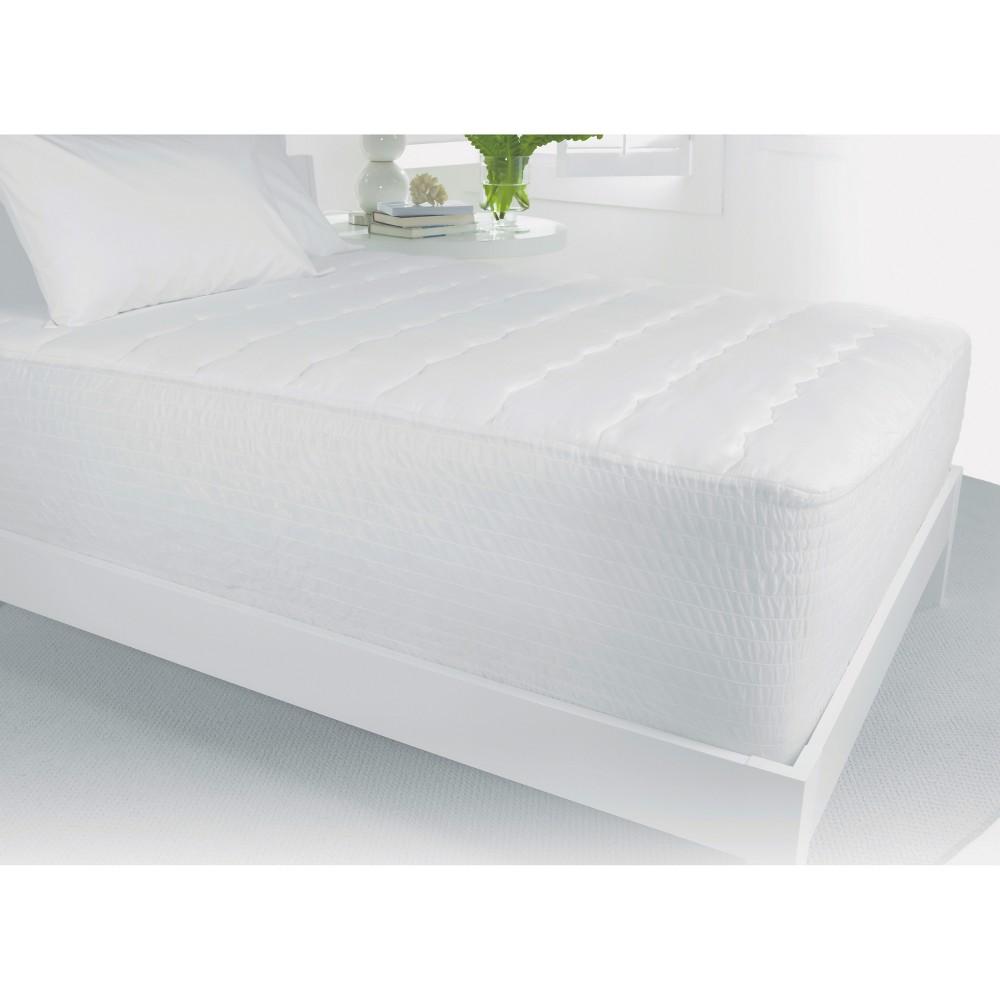 Waterproof Mattress Pad Twin - Beauty Rest, White