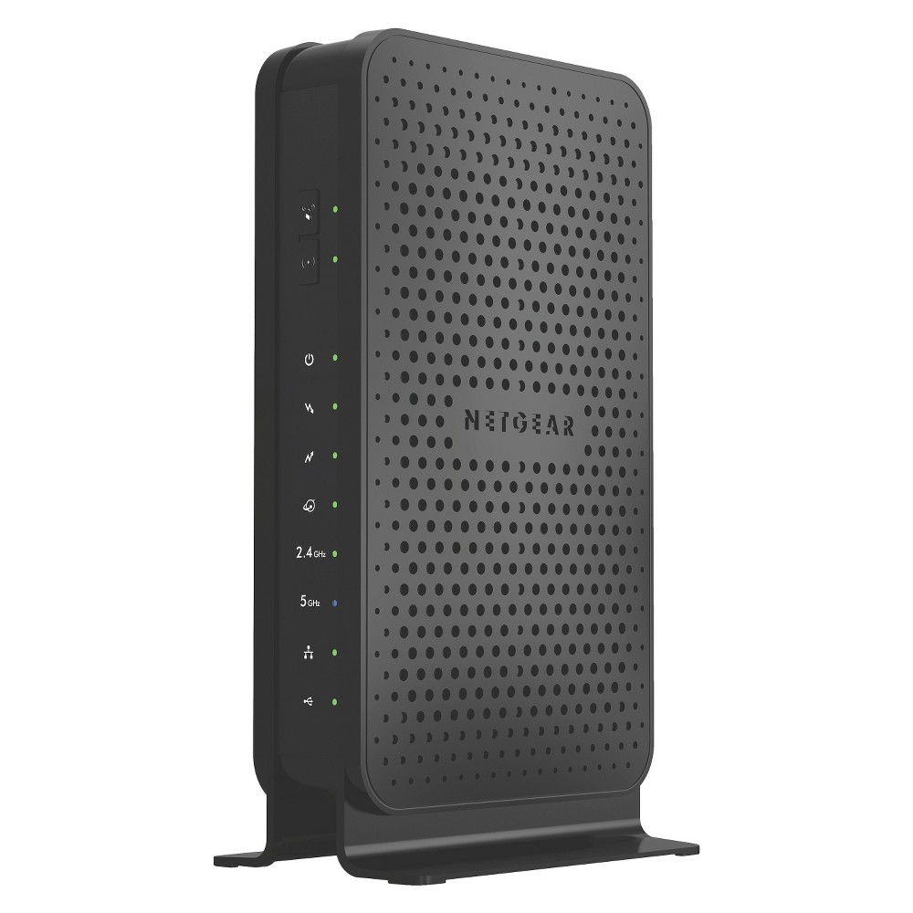 Netgear N600 WiFi Docsis 3.0 Cable Modem Router (C3700) Get all the speed you need from your cable provider without paying monthly modem rental fees. This 2-in-1 dual-band WiFi router and Docsis 3.0 cable modem unleashes 8x faster download speeds—up to 340 Mbps for faster, more reliabable WiFi. It's CableLabs certified to work with all major cable Internet providers such as Cablevision, CHarter, Cox, Time Warner Cable, Xfinity, and more