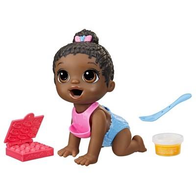 Baby Alive Lil Snacks Black Hair