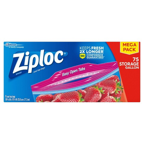 Ziploc Storage Gallon Bags - image 1 of 4