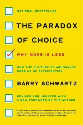 Barry schwartz too many choices dating