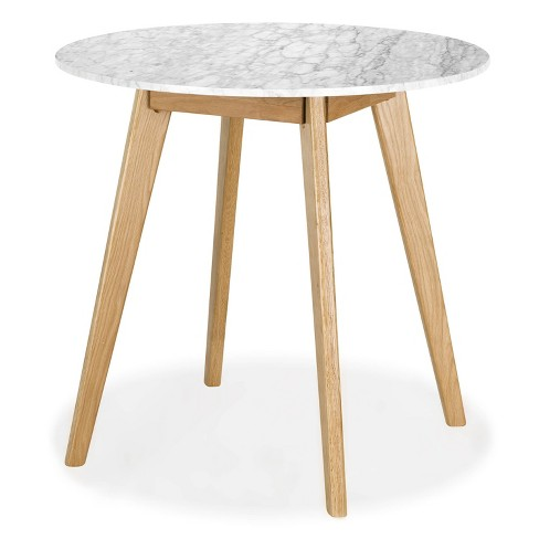 Gabrielle Marble Round Dining Table - Poly & Bark - image 1 of 4