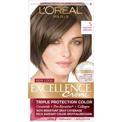 L'Oreal Paris Excellence Triple Protection Permanent Hair Color - 6.3 fl oz
