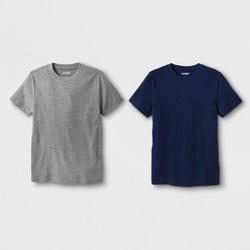 59faf51df Boys' 2pk Short Sleeve T-Shirt - Cat & Jack™ Navy/Gray