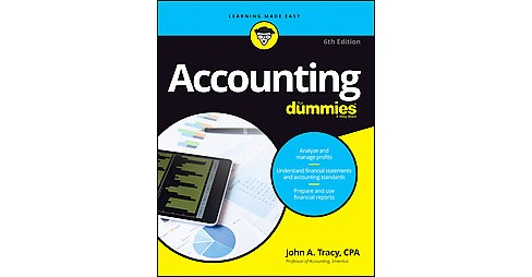 Accounting for Dummies (Paperback) (John A. Tracy) - image 1 of 1