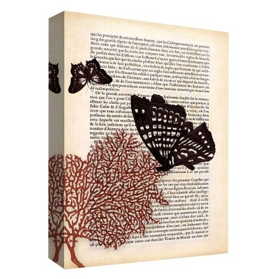"11"" x 14"" A Butterfly Story II Decorative Wall Art - PTM Images"