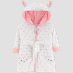 Baby Girls' Sheep Bath Robe - Just One You® made by carter's Pink One Size