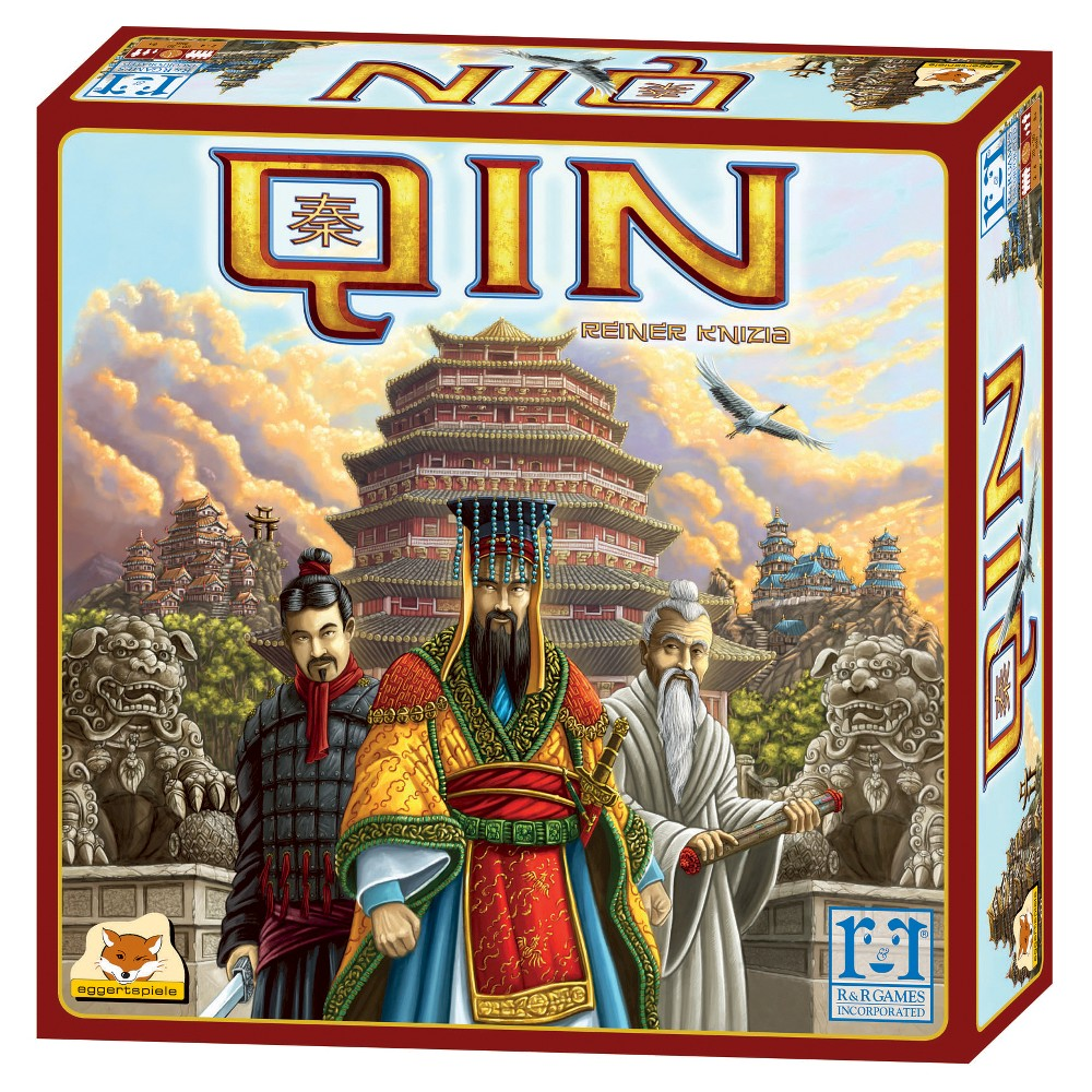 R&r Games Qin Board Game, Board Games
