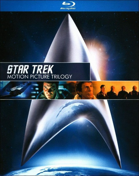 Star Trek: Motion Picture Trilogy (3 Discs) (Blu-ray) - image 1 of 1