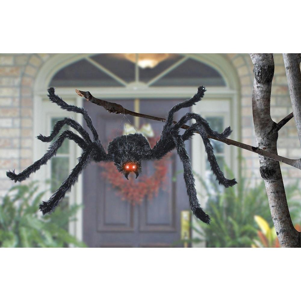 Halloween Animated Black Spider