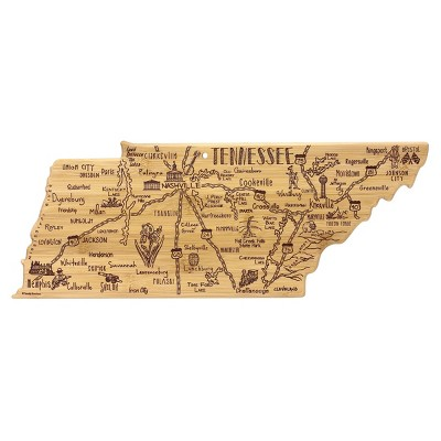 Totally Bamboo Destination Tennessee Serving and Cutting Board