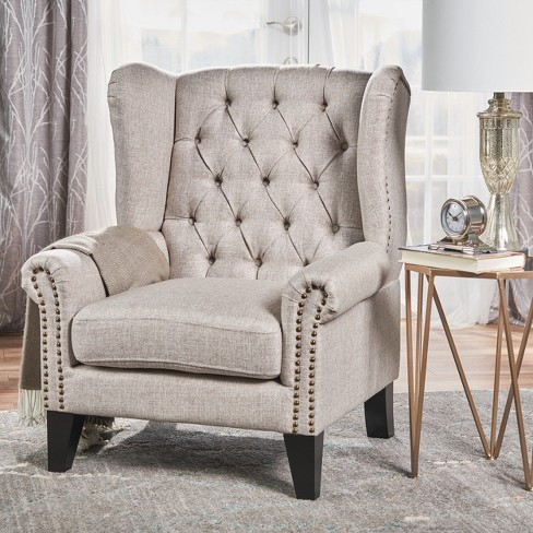 Laird Traditional Winged Accent Chair - Christopher Knight Home : Target