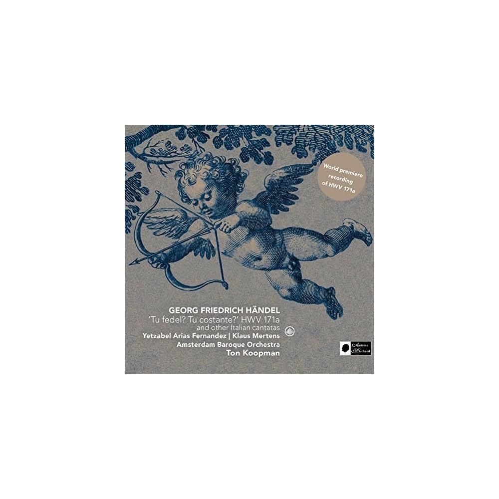 Ton Koopman - Handel:Italian Cantatas (CD)