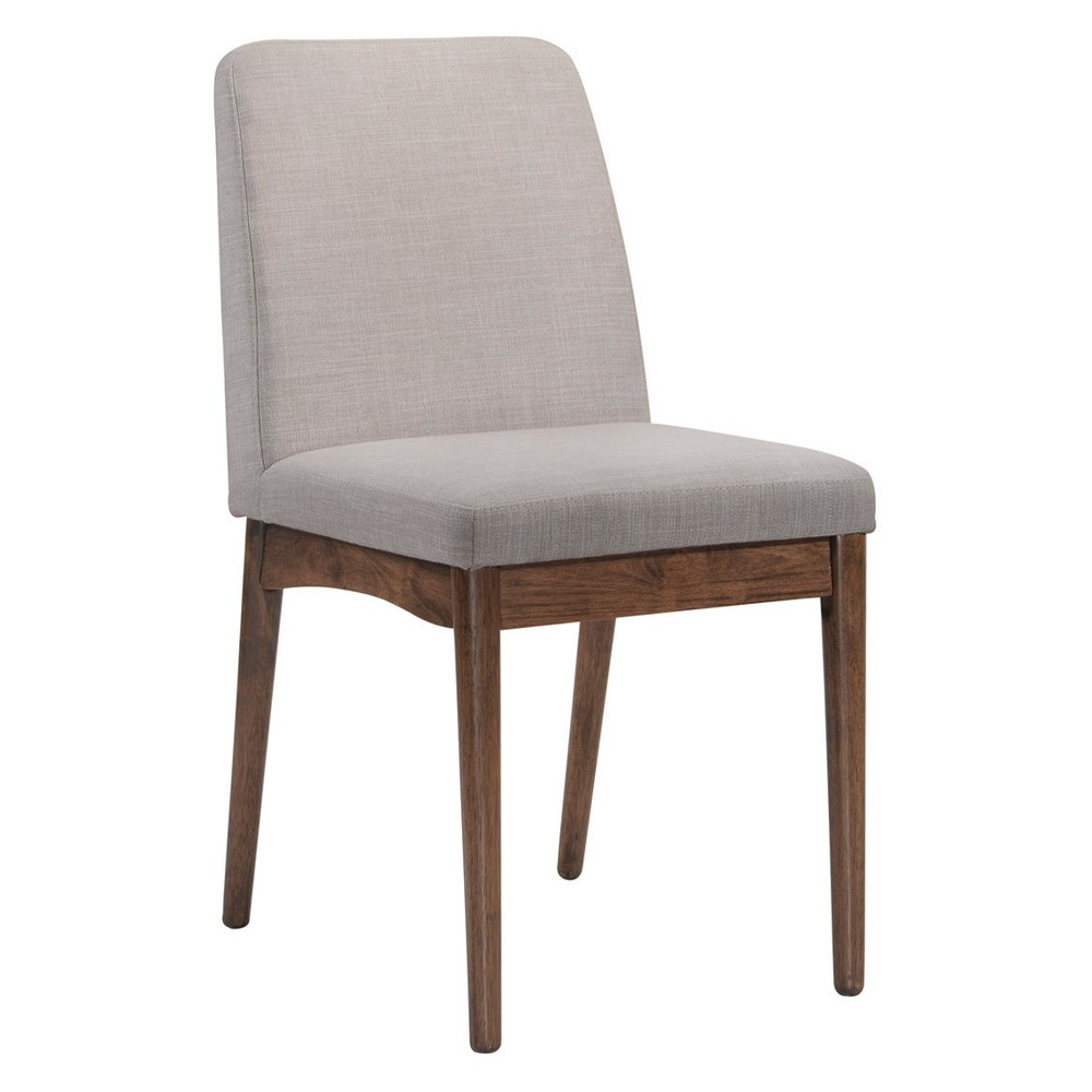 Private Reserves Set of 2 Dining Chair Gray
