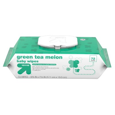 Baby Wipes Green Tea Melon - 72ct - Up&Up™