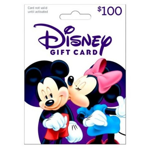 Disney Gift Card $100 - image 1 of 1