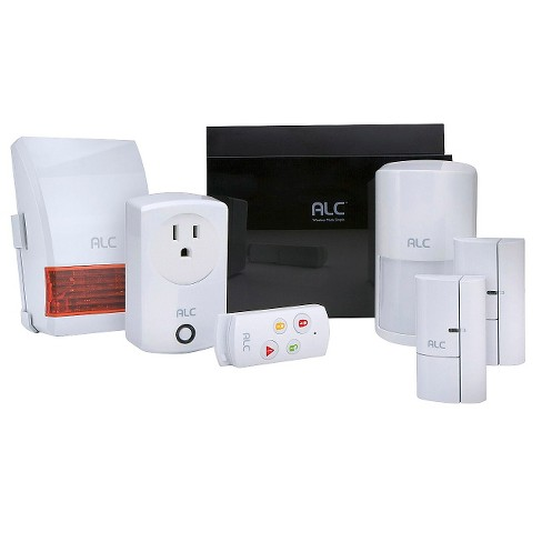 ALC Wireless Security System Protection Kit - Black/ White (AHS616) - image 1 of 5