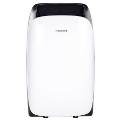 Honeywell -  12000-BTU HL Series Portable Air Conditioner with Remote Control - White/Black