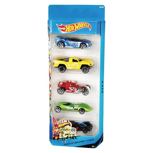 Hot Wheels Diecast 5 Car Pack - image 1 of 9