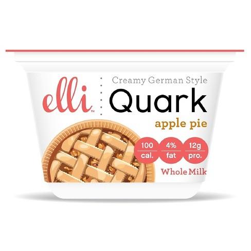 Elli Quark Apple Pie Whole Milk Yogurt - 6oz - image 1 of 1