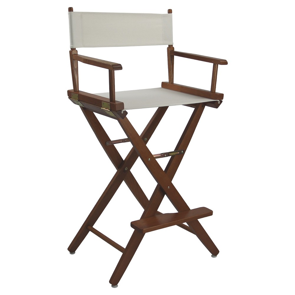Extra Wide Directors Chair - Mission Oak Frame/Natural