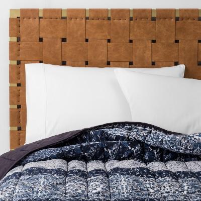 Blue Santorini Stripe Quilt (Full/Queen)- Opalhouse™